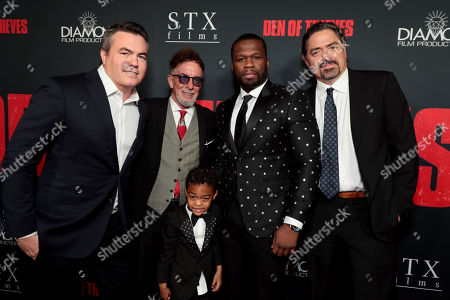 Editorial photo of STX Films Los Angeles film Premiere of 'Den of Thieves' at Regal Cinemas L.A. Live, Los Angeles, CA, USA - 17 Jan 2018