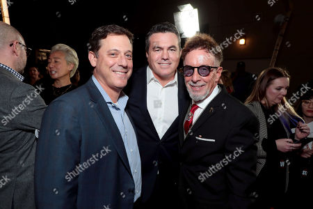 Stock Image of Adam Fogelson, Chairman of STXfilms, Tucker Tooley, Producer, Mark Canton, Producer,