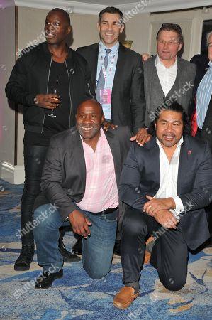 Martin Offiah, Victor Ubogu and Freddie Tuilagi