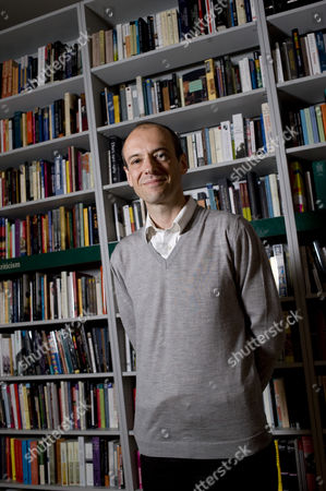 Editorial picture of Nicholas Blincoe at The London Review of Books Bookshop, London, Britain  - 27 May 2009