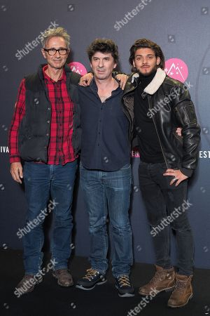 Director Robin Sykes, Rayane Bensetti and Thierry Lhermitte