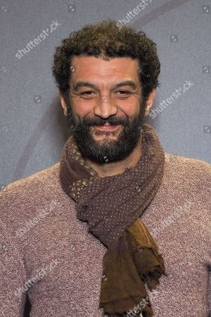 Ramzy Bedia attends 'Les Aventures de Spirou et Fantasio' Photocall