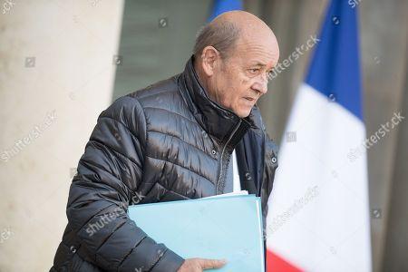 Editorial photo of Cabinet meeting, Elysee Presidential Palace, Paris, France - 17 Jan 2018