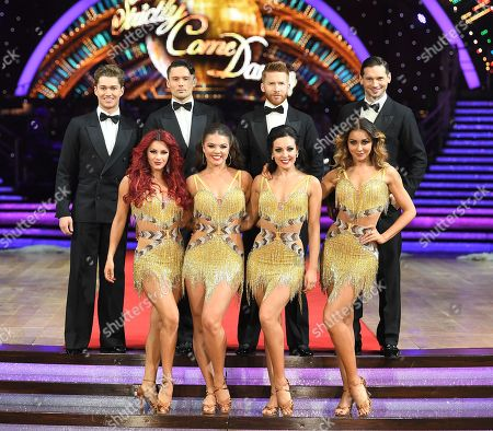 Professional dancers, AJ Pritchard, Jake Leigh, Neil Jones, Marius Lepure, Dianne Buswell, Chloe Hewitt, Karen Clifton, Amy Dowden, Luba Mushtuk
