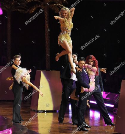 Editorial image of 'Strictly Come Dancing - The Live Tour!' photocall, Birmingham, UK - 18 Jan 2018