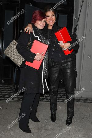 Julie Chen and Sharon Osbourne
