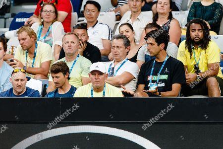 Huo Gravil, Jaz Green, Juan Carlos Ferrero, Alexander Zverev senior