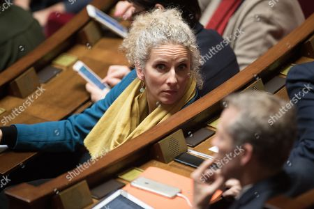 Delphine Batho attends the weekly session of the questions to the government at French parliament.