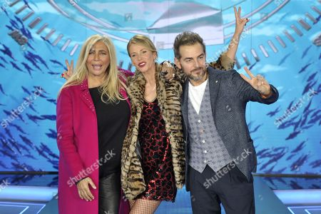Editorial photo of 'L'Isola dei Famosi' TV show press conference, Milan, Italy - 18 Jan 2018