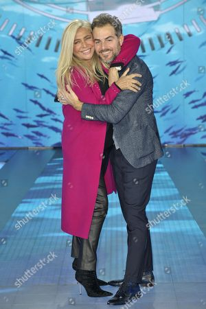 Mara Venier and Daniele Bossari