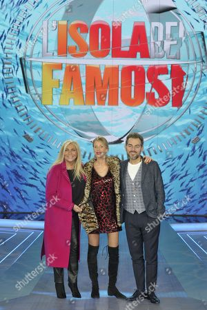Editorial picture of 'L'Isola dei Famosi' TV show press conference, Milan, Italy - 18 Jan 2018