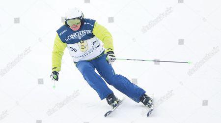 Franz Klammer races in the Kitz Charity Trophy 2018