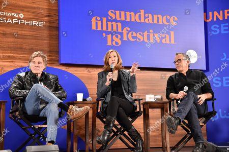 Robert Redford, Keri Putnam, and John Cooper