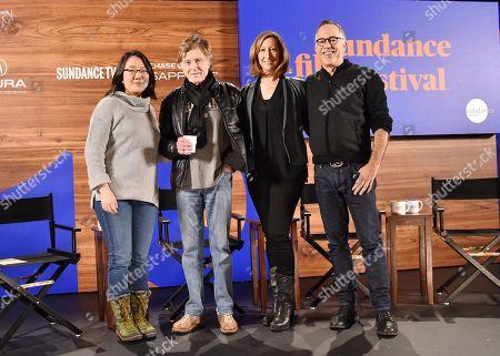Margaret Chai, Robert Redford, Keri Putnam, and John Cooper