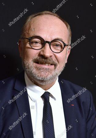 Stock Photo of Joel Guerriau, Senateur Les Independants de Loire-Atlantique.