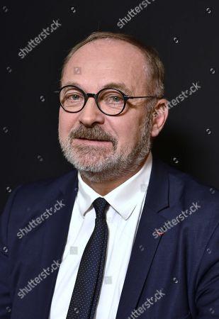 Editorial picture of Joel Guerriau portrait session, Paris, France - 18 Jan 2018
