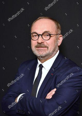 Editorial image of Joel Guerriau portrait session, Paris, France - 18 Jan 2018