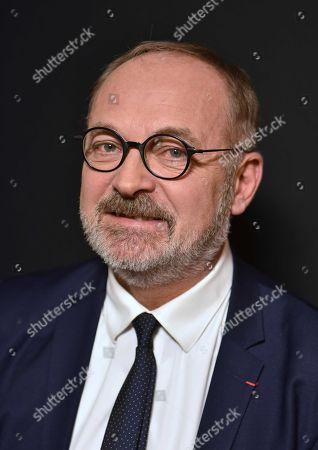 Stock Picture of Joel Guerriau, Senateur Les Independants de Loire-Atlantique.