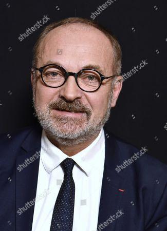 Stock Image of Joel Guerriau, Senateur Les Independants de Loire-Atlantique.