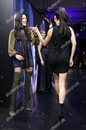 Rebecca Mir and Adriana Lima