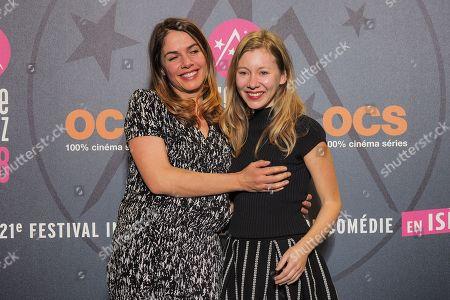 Director Zazon Castro (L) and Geraldine Martineau (R)