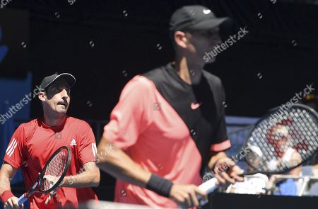 Stock Photo of Max Mirnyi and Philipp Oswald