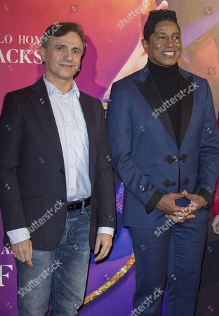 Jose Mota and Jermaine Jackson