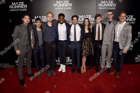 Editorial picture of Los Angeles screening of Twentieth Century Fox 'Maze Runner: The Death Cure' at AMC Century City 15, Los Angeles, CA, USA - 18 Jan 2018