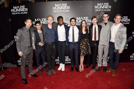 Editorial image of Los Angeles screening of Twentieth Century Fox 'Maze Runner: The Death Cure' at AMC Century City 15, Los Angeles, CA, USA - 18 Jan 2018