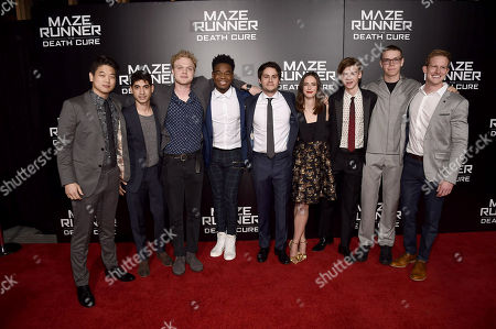 Ki Hong Lee, Alexander Flores, Joe Adler, Dexter Darden, Dylan O'Brien, Kaya Scodelario, Thomas Sangster, Will Poulter, Chris Sheffield