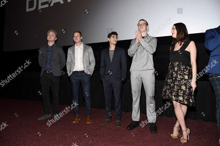 Stock Image of Joe Adler, Chris Sheffield, Alexander Flores, Will Poulter, Kaya Scodelario
