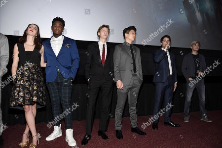 Kaya Scodelario, Dexter Darden, Thomas Sangster, Ki Hong Lee, Dylan O'Brien, Wes Ball, Director,