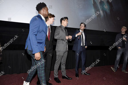 Dexter Darden, Thomas Sangster, Ki Hong Lee, Dylan O'Brien, Wes Ball, Director,