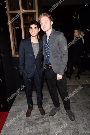 Stock Picture of Alexander Flores, Joe Adler