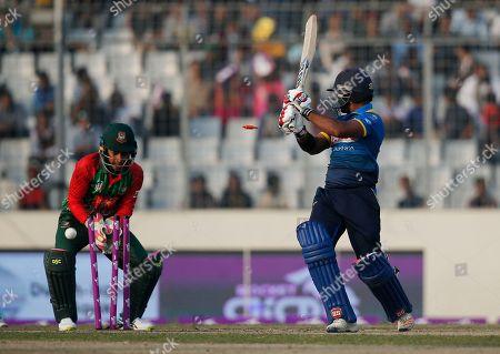 Editorial photo of Tri-Nation Cricket, Dhaka, Bangladesh - 19 Jan 2018