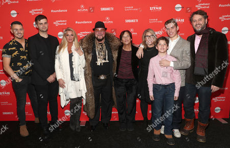 Bobby Strauser, Conrad Homm, Tiffany Masters, Limo Bob, Patricia Greenfield, Director Lauren Greenfield, Gabriel Evers, Noah Evers, and Producer Frank Evers