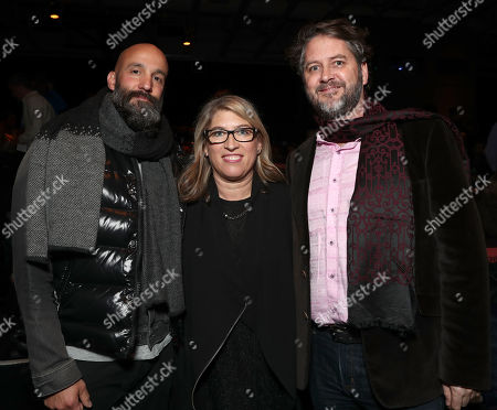 Amazon Studios Head of Motion Pictures Jason Ropell, Director Lauren Greenfield and Producer Frank Evers,