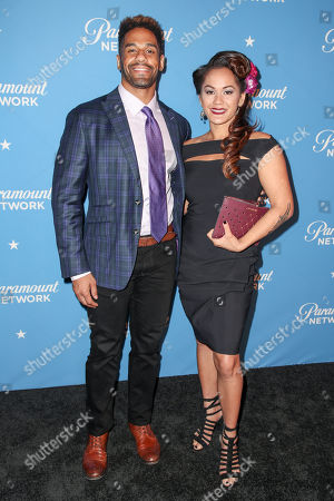 Stock Image of Guest and Ilima-Lei Macfarlane