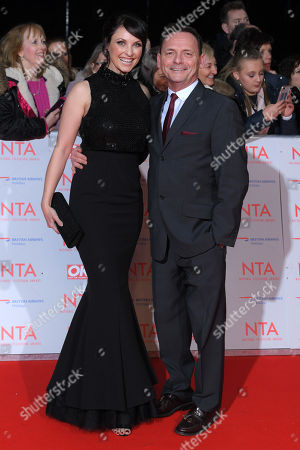 Emma Barton and Perry Fenwick