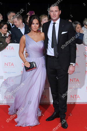 Stock Photo of Vicky Pattison and John Noble