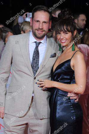 Editorial image of National Television Awards, Arrivals, O2, London, UK - 23 Jan 2018