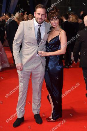 Stock Image of Jennifer Metcalfe and Greg Lake