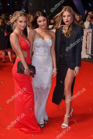 Tiffany Watson, Emily Blackwell and Frankie Gaff