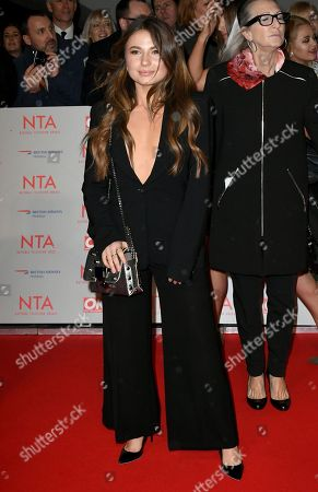 Editorial picture of National Television Awards, Arrivals, O2, London, UK - 23 Jan 2018