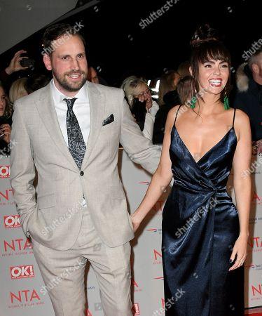 Stock Photo of Greg Lake and Jennifer Metcalfe