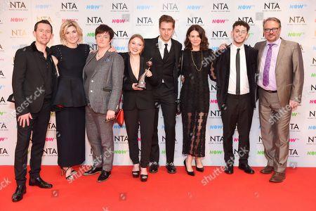 Jodie Whittaker, Charlotte Beaumont, Arthur Darvill, Charlie Higson - Crime Drama - 'Broadchurch'