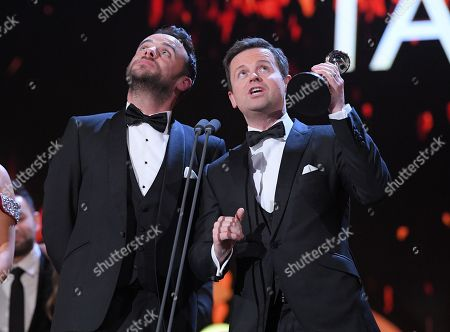 Ant & Dec - Anthony McPartlin and Declan Donnelly- The Bruce Forsyth Entertainment Award - 'Ant and Dec's Saturday Night Takeaway'