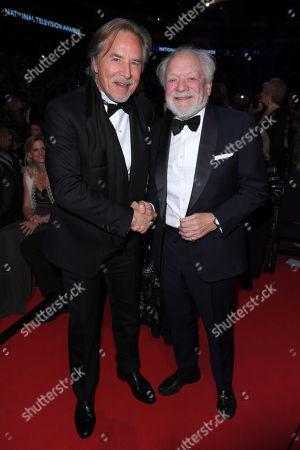 Don Johnson and David Jason