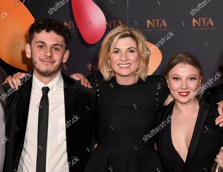 Editorial photo of National Television Awards, Backstage, O2, London, UK - 23 Jan 2018
