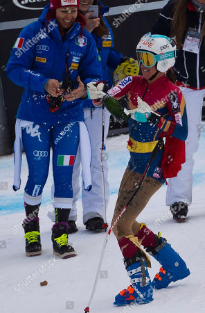 Editorial picture of Alpine Skiing World Cup, Cortina d'Ampezzo, Italy - 19 Jan 2018